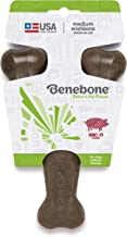 Benebone Real Flavor Wishbone Dog Chew Toy, Made in USA