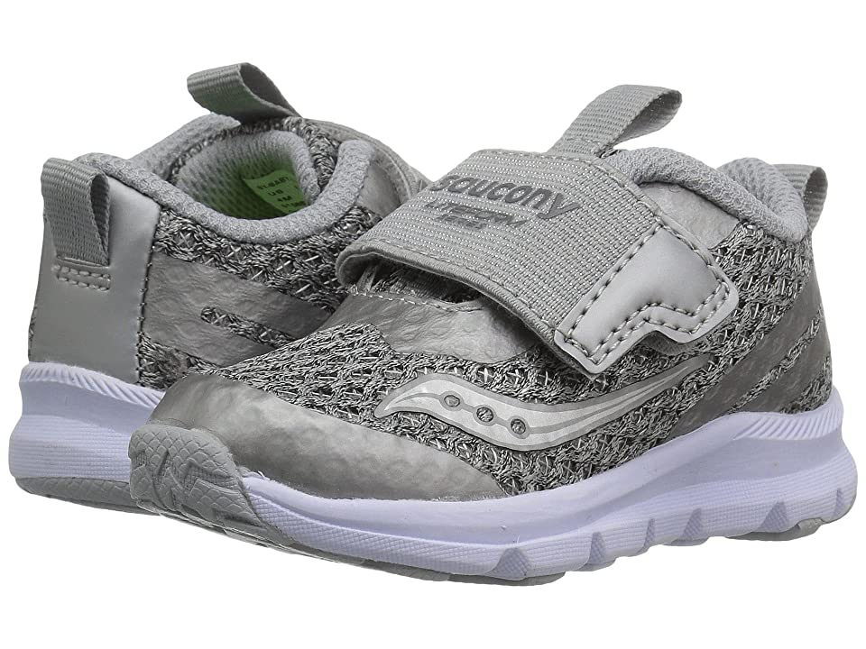 Saucony Kids Liteform (Toddler/Little Kid/Big Kid) (Light Grey) Girls Shoes