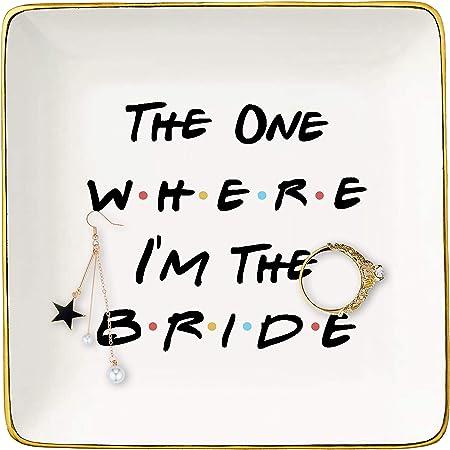 ring holder Ring trinket dish wedding gifts Bride Ring Cone Gift Set jewelry storage Bride Ring dish jewelry display wedding ring cone