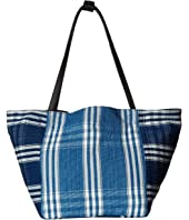 Elizabeth and James - Indigo Patchwork Fortune Tote