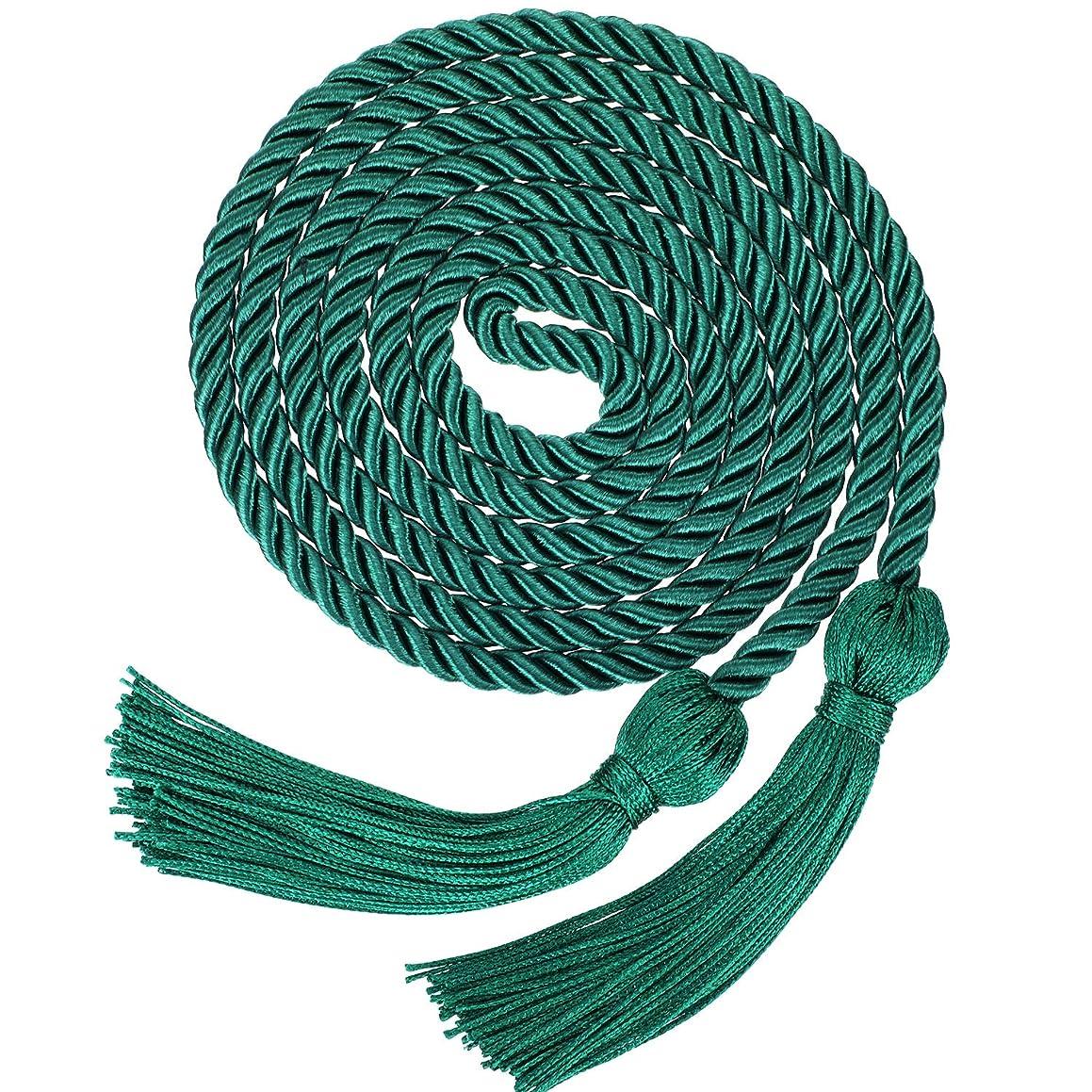 Graduation Honor Cords Tassels Cord Polyester Yarn Honor Cord for Bachelor Gown for Graduation Students (Green)