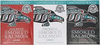 Alaska Smokehouse Smoked Salmon/Pepper Garlic/Sockeye Gift Set