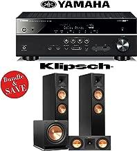 Yamaha RX-V581BL 7.2-Channel Network A/V Receiver + Klipsch RP-260F + Klipsch RP-250C + Klipsch R-112SW - 3.1 Reference Premiere Home Theater Package