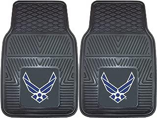 Fanmats Military 'Air Force' Vinyl Heavy Duty Car Mat - 2 Piece