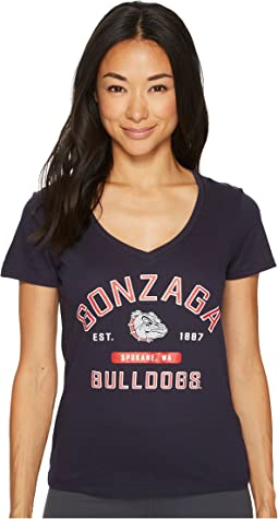 Gonzaga Bulldogs University V-Neck Tee