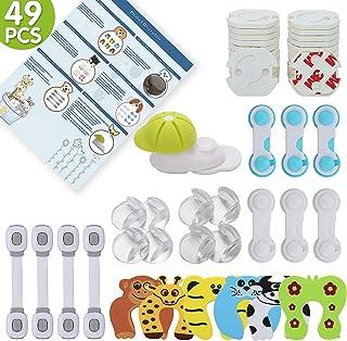 para la seguridad en el hogar Kit completo de prevenci/ón para beb/és Kit de seguridad de 21 piezas para ni/ños por Boxiki Kids