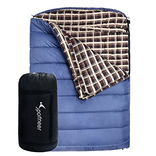 Sport neer® de 18 °C/0 °F único saco de dormir Saco