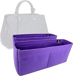 Zoomoni LV Montaigne GM Bag Insert Organizer - Premium Felt (Set of 2/Handmade/20 Colors)