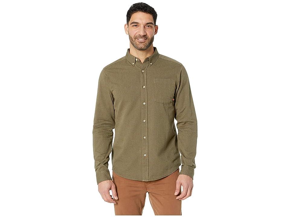 Mountain Hardwear Baxtertm Long Sleeve Shirt (Peatmoss) Men