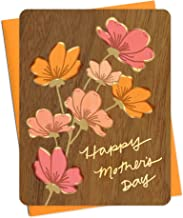 product image for Azaleas Wood Mother's Day Card by Night Owl Paper Goods