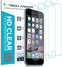 Tech Armor Matte Anti-Glare/Anti-Fingerprint Film Screen Protector for Apple iPhone 6S Plus/iPhone 6 Plus (5.5-inch) [3-Pack]