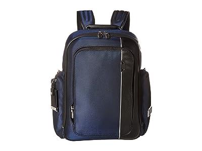 Tumi Arrive Larson Backpack (Navy) Backpack Bags