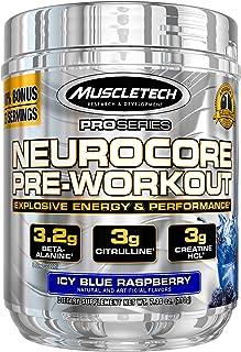 Pre Workout + Muscle Builder | MuscleTech Neurocore Preworkout | Creatine HCl + L Citrulline + Yohimbine + Beta Alanine + ...