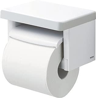 TOTO 卷紙器 帶擱板(木質)衛生間卷紙架 樹脂質 白 YH501FM#NW1