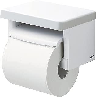TOTO 卷纸器 带搁板(木质)卫生间卷纸架 树脂质 白 YH501FM#NW1