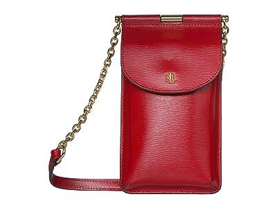 LAUREN Ralph Lauren Phone Bag Crossbody Mini (Red) Cross Body Handbags