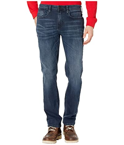 Buffalo David Bitton Evan-X Slim Straight Jeans in Whiskered and Sanded (Whiskered and Sanded) Men