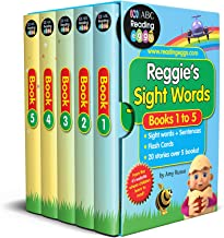 Reggie's Sight Words Box Set: 60 Essential Sight Words + 20 Stories