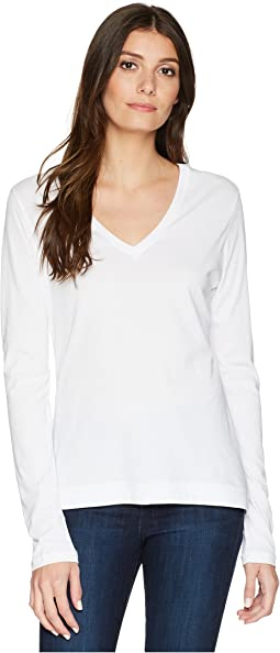 Long Sleeve V-Neck Core Tee