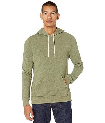Alternative Challenger Pullover Hoodie (Eco True Army Green) Men