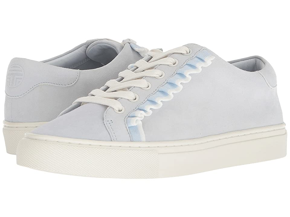 Tory Sport Ruffle Sneaker (Blue Silk/Snow White) Women