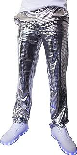 Electro Pants Shiny Disco Dress Trousers