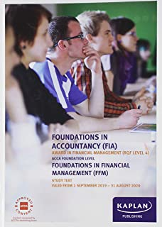 FOUNDATIONS IN FINANCIAL MANAGEMENT - STUDY TEXT