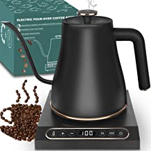 Dealz Frenzy Electric Kettle with Temperature Control,Pour Over Kettle Tea & Coffee Gooseneck Kettle with Keep Warm Functi...