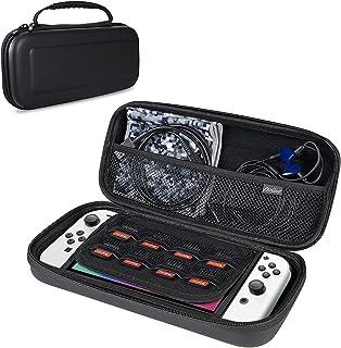 ProCase Estojo de transporte para Nintendo Switch OLED modelo e Nintendo Switch, capa rígida de viagem para Nintendo Switc...