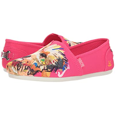 BOBS from SKECHERS Bobs Plush Big Smooch (Fuchsia) Women