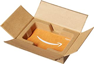 Amazon.com $1000 Gift Card in a Mini Amazon Shipping Box (Amazon Icons Card Design)