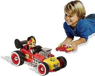 لعبة سيارة مكشوفة للسباقات ميكي من اي ام سي تويز، 2.4 جيجاهرتز مع جهاز تحكم عن بعد