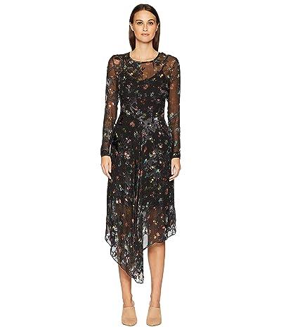 Preen by Thornton Bregazzi Sally Dress with Black Slip (Black) Women