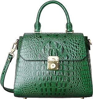 Crocodile Bags Designer Leather Satchel Handbags Top Handle Shoulder Purse