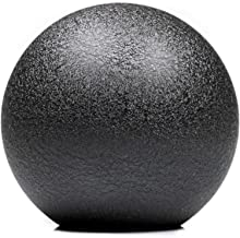 Shift Solutions Co. SR 610 Grams Weighted Round Shift Knob (Wrinkle Black)