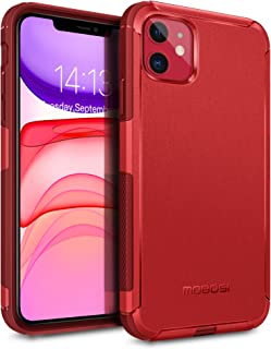 MOBOSI Excursion Series Compatible with iPhone 11 Case, Dual-Layer Drop Protection Dustproof Case with Shock-Absorbing Air...