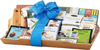 Gourmet Gift Basket-Spring is in the Air Gift Tray Loaded with Gourmet Food and more by Wine Country Gift Baskets