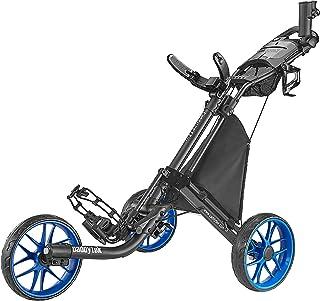 CaddyTek Caddylite EZ V8 - Cartoon push push Golf Wheel EZ-Fold 3 Wheel
