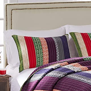 Greenland Home Marley King Sham-Multi, Multicolor