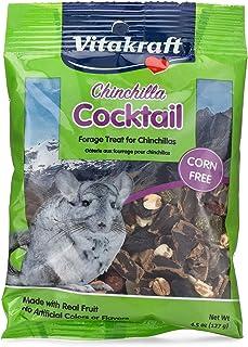 Vitakraft Chinchilla Cocktail Mixed Fruit Treat, 4.5 Ounce Pouch