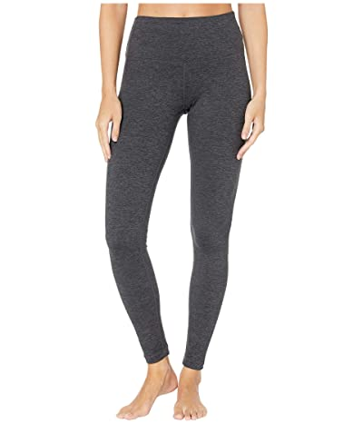 Lole Half Moon High-Waist Leggings (Black Heather) Women