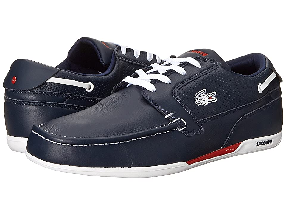 Lacoste Dreyfus (Dark Blue/White) Men