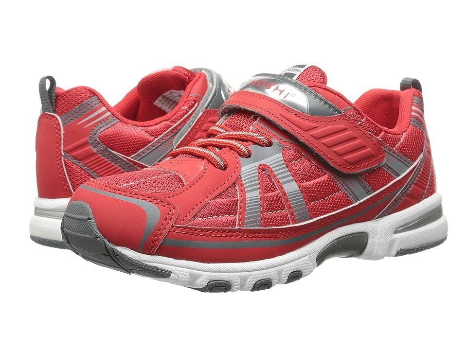Tsukihoshi Kids Storm (Toddler/Little Kid) (Red/Gray) Boys Shoes