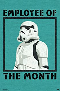 Trends International Star Wars: Saga-Employee of The Month Clip Bundle Wall Poster, 22.375