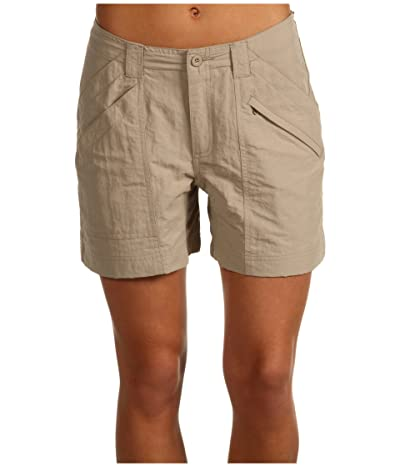 Royal Robbins Backcountry Short (Khaki) Women