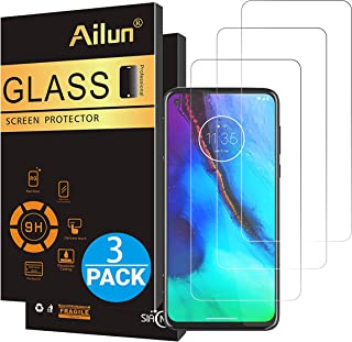Ailun Screen Protector for Moto G Stylus & Moto G Power & G8 Power,6.4 inch Display,3 Pack Tempered Glass 9H Hardness Ultra Clear Bubble Free Anti-Scratch Fingerprint Oil Stain Coating Case Friendly