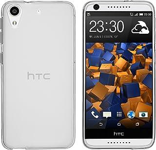 mumbi Funda Compatible con HTC Desire 626G Caja del teléfono móvil, Blanco Transparente
