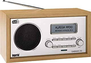 radio holz Imperial 22-130-00 Dabman 30 Digitalradio DAB/DAB/UKW, Aux In, inkl. Netzteil braun