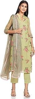 Women's Straight Salwar Suit Set