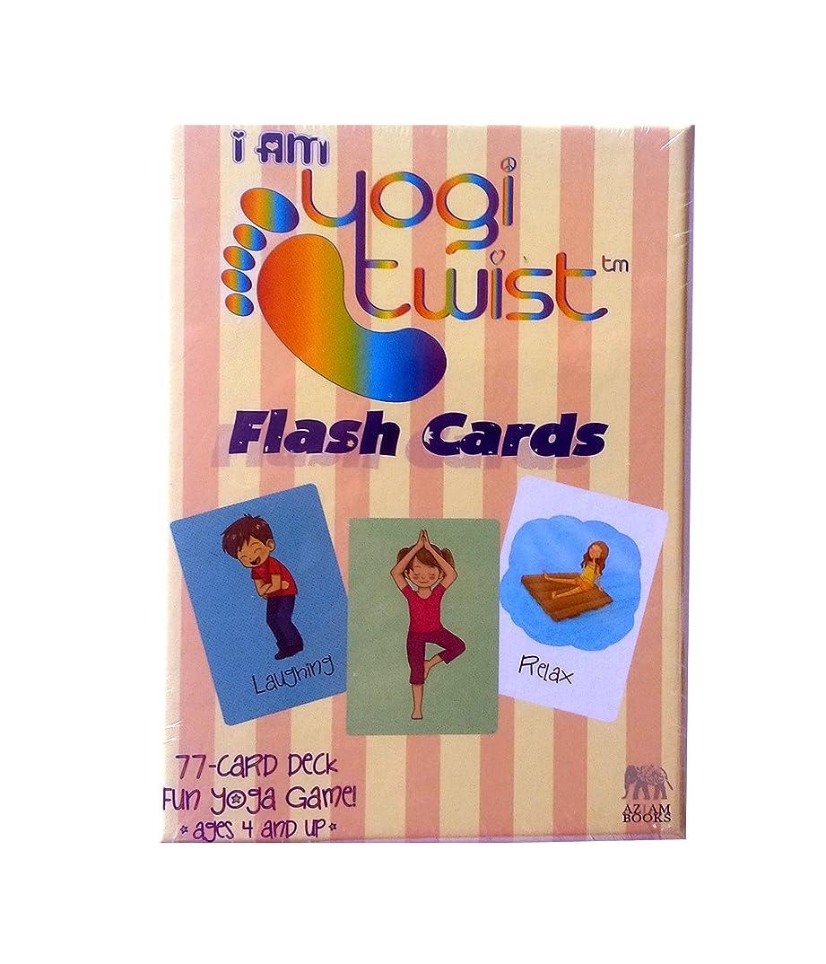非互換広々パラナ川I AM Yogi Twist Flash Card Game